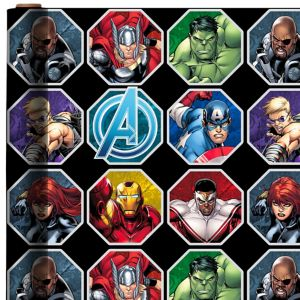 Avengers Age of Ultron Gift Wrap