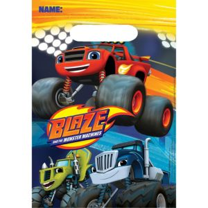 Blaze and the Monster Machines Favor Bags 8ct