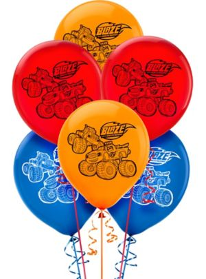 Blaze and the Monster Machines Balloons 6ct