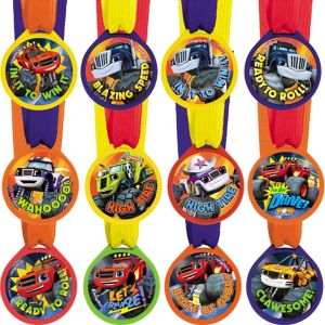 Blaze and the Monster Machines Award Medals 12ct