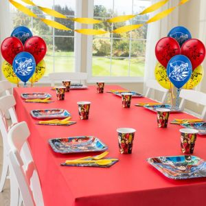 Justice League Basic Party Kit for 8 Guests