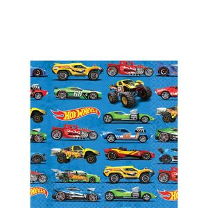 Hot Wheels Beverage Napkins 16ct