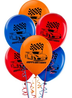 Hot Wheels Balloons 6ct
