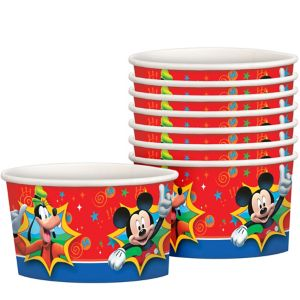 Mickey Mouse Treat Cups 8ct