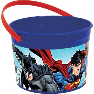 Justice League Favor Container
