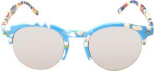 Daisy Tie-Dye Half Frame Sunglasses