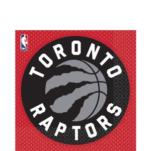 Toronto Raptors Lunch Napkins 36ct