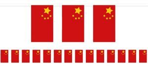 Chinese Flag Pennant Banner