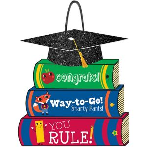 Congrats Sign - Schoolhouse Chalkboard Graduation