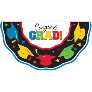 Multicolor Graduation Bunting