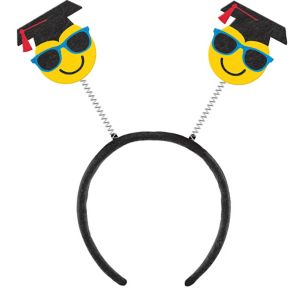 Smiley Graduation Head Bopper
