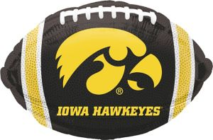Iowa Hawkeyes Balloon - Football