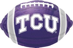TCU Horned Frogs Balloon - Football