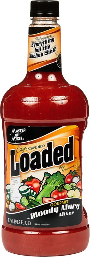 Loaded Bloody Mary Mix Bottle