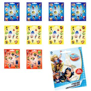 DC Super Hero Girls Sticker Book 9 Sheets