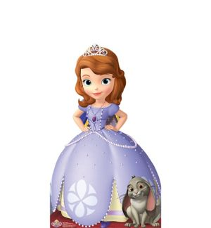 Sofia the First Life-Size Cardboard Cutout