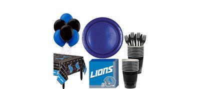 Detroit Lions Super Party Kit for 18 Guests