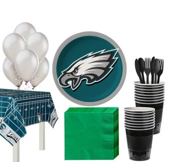 Philadelphia Eagles Super Party Kit for 18 Guests