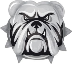 Bulldog Mascot Balloon