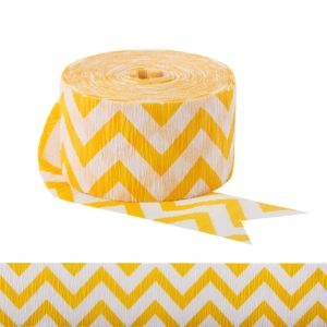 Yellow Chevron Streamer
