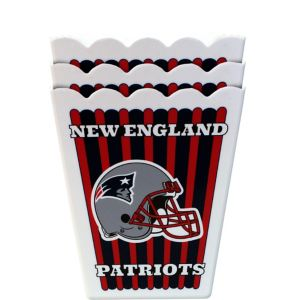 New England Patriots Popcorn Boxes 3ct