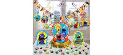 Sesame Street Decoration Kit