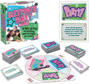 Sleepover Party Board Game