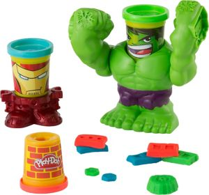 Play-Doh Smashdown Hulk Playset 5pc