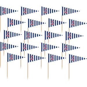 Striped Nautical Flag Picks 36ct