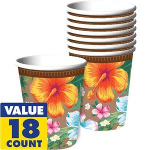 Hawaiian Hibiscus Cups 18ct