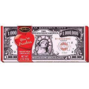 Valentine's Day Million Dollar Milk Chocolate Bar