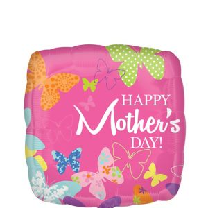 Pink Happy Mother's Day Balloon
