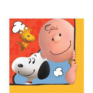 Peanuts Lunch Napkins 16ct