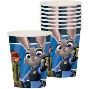 Zootopia Cups 8ct
