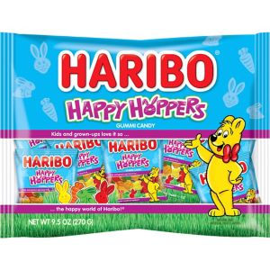 Haribo Happy Hoppers Gummy Candy Pouches 22ct