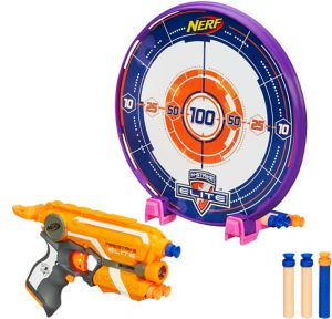 N-Strike Elite Precision Nerf Gun & Target Playset 2pc