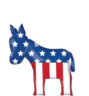 Democrat Balloon - Giant Donkey