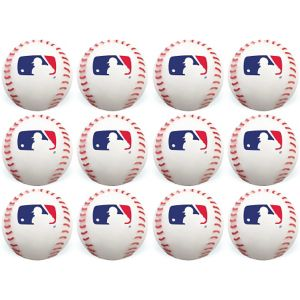 MLB Baseball Bounce Balls 12ct