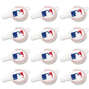 MLB Baseball Whistles 12ct
