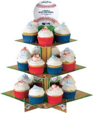 Rawlings Baseball Cupcake Stand