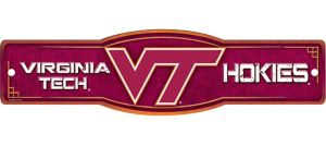 Virginia Tech Hokies Street Sign