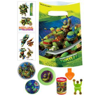 Teenage Mutant Ninja Turtles Basic Favor Kit for 8 Guests