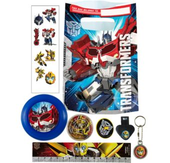 Transformers Basic Favor Kit for 8 Guests