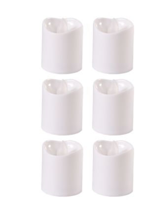 White Votive Flameless LED Candles 6ct