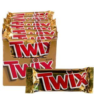 Milk Chocolate Caramel Twix Bars 36ct