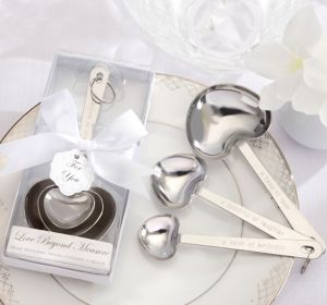Elegant Love Beyond Measure Heart Measuring Spoons