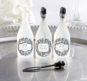 PERSONALIZED Wedding Bubbles (Printed Label) (25th Anniversary)