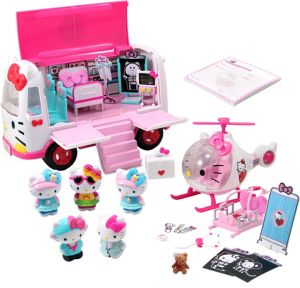 Hello Kitty Rescue Playset 25pc