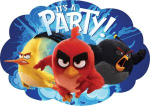 The Angry Birds Movie Invitations 8ct
