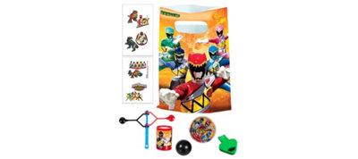 Power Rangers Basic Favor Kit for 8 Guests